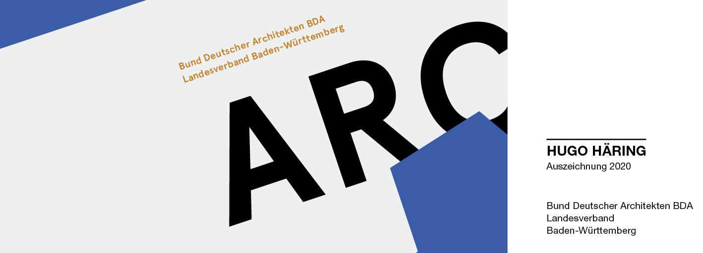 BDA Hugo Häring Auszeichnung 2020